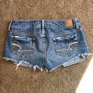 American Eagle Outfitters Shorts - Blue jean shorts